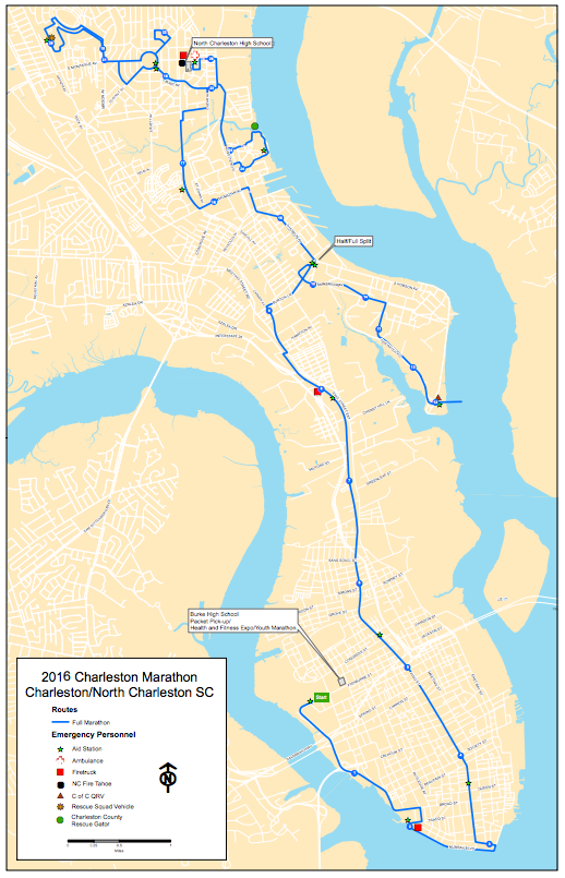 """26.2 miles of """"let's finish so I can go eat shrimp and grits."""""""